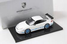 1:43 Minichamps Porsche 911 996 GT3 RS white/blue NEW bei PREMIUM-MODELCARS