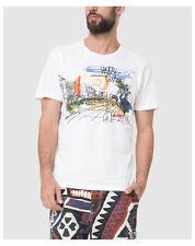 T-shirts Desigual taille S pour homme