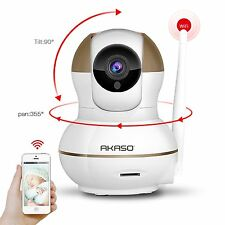 AKASO IP1M-902 720P HD WiFi IP Security Camera Wireless Network Pan/Tilt Outdoor