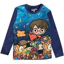 Boys Girls Harry Potter Long Sleeved Tshirt tshirt Boys Cotton Printed Top 4-10