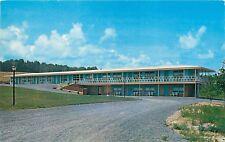 Hillside Motel Adirondacks New York NY Rte 30 Postcard