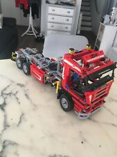 GRAND CAMION GRUE 8258 DE 53 CM EN LEGO TECHNIC INCOMPLET