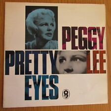 PEGGY LEE Pretty Eyes 1960's UK VINYL LP EASY SMOOTH JAZZ VOCAL STEREO
