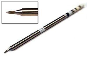 Hakko T15-D08 Chisel Tip 0.8mm x 9.5mm for FM-2027