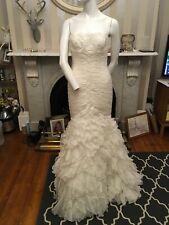 Pronovias Barcelona Wedding Dress Size Uk 10