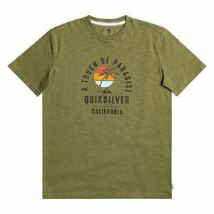 T-shirt Quiksilver Quiet Hour Tee Men's Surf Wear Tee shirt pour homme