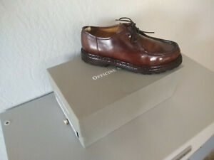 Officine Creative Volcov Aero Canyon Size 41 Tuscano Brown Derby Dress Shoe