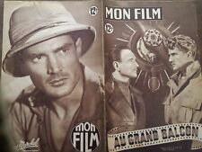 """MON FILM 1950 N 186 """"AU GRAND BALCON """" avec PIERRE FRESNAY et GEORGES MARCHAL"""