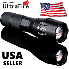 10000LM Zoomable XML T6 LED 5 Modes 18650 Flashlight Focus Torch Lamp Adjustable