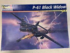 Revell Monogram P-61 Black Widow 1/48 Kit W/ Extra Detail Wheels Pn - 85-7546