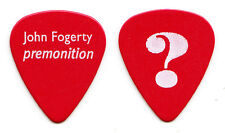 John Fogerty Premonition Red Guitar Pick - 1998 Premonition Tour