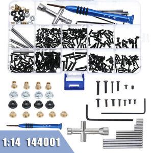 For RC Car Model Wltoys 1:14 144001 Repair Tools Screws & Nuts + Screwdriver Kit