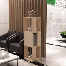 Wooden 3 Cube Bookcase Storage Unit Display Shelves Cupboard Doors Shelving Unit