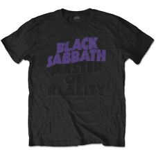 Official Black Sabbath T Shirt Master of Reality Mens Classic Rock Metal Band