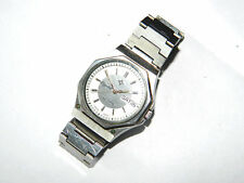 OVARAS Unisex WRIST WATCH w/ Day and Date, Automatic, Stainless Steel