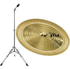 "Paiste PST3 China 18 "" + Cymbal Stand Straight Lyd-25"