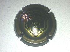 Capsule de champagne BOLLINGER écusson contour or (52. anhtracite)