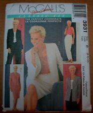 McCall 3931 Misses and Misses Petite jackets, tops, pants, skirts Sizes 8-10-12