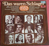 Das waren Schlager 1952 LP Vinyl Rudi Schuricke / Bruce Low / Rene Carol uvm