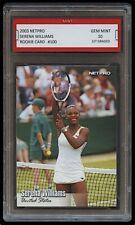 2003 SERENA WILLIAMS NETPRO #100 US/USA OPEN TENNIS 1ST GRADED 10 ROOKIE CARD