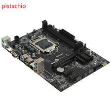 Runing B75 computer motherboard LGA1155 desktop new motherboard M-ATX DDR3