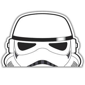 stormtrooper peeper sticker 136 x 90mm