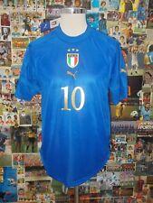 maglia calcio shirt maillot trikot camiseta ITALIA BAGGIO TG M 2004 NUOVA NEW TA