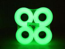 60mm x 44mm Cuiser Wheels Fits Longboard Skateboard Plastic Board Glow In Dark