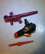 Perceptor weapons lot 1985 Vintage Hasbro G1 Transformers  Action Figure