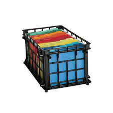 Tops Products Oxford Filing Crates 27570