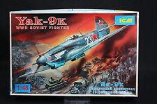 XS072 ICM 1/48 maquette avion 48011 Yak-9K Soviet Fighter WWII