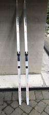 210cm FISCHER Super Glass Wax Absorbing  Cross Country Skis w/ Salomon Bindings