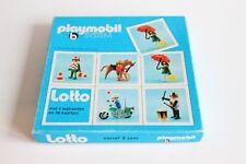 "playmobil vintage game "" lotto "" dutch game, spiel, παιχνίδι, jeu, juego compl."