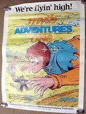 RARE! Myth Adventures #1 poster SIGNED! (phil foglio, xxxenophile)