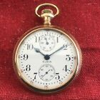RARE Elgin Father Time 18 size 21 jewel Up/down indicator Pocket Watch