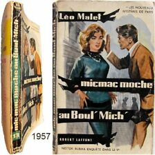 Micmac moche au Boul' Mich' 1957 Léo Malet Nestor Burma mystères de Paris