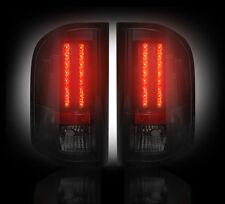 2007-2013 Chevy Silverado Rear Brake & Reverse Smoked Taillights w/ LED Bulbs