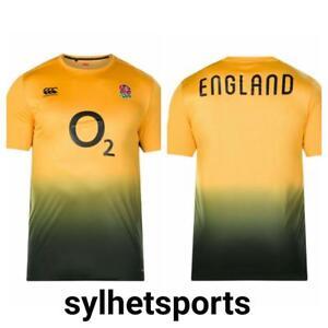 Genuine Canterbury England Men's Rugby RFU VapoDri T-Shirt 2017/18 (E547260)