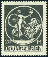 DR 1920, MiNr. 138 IV, tadellos postfrisch, Kurzbefund Weinbuch, Mi. 250,-