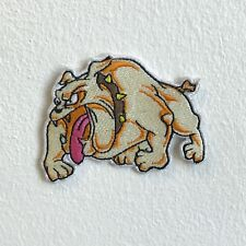 Pitbull Bulldogs Patch Vintage Kennels Dog Embroidery Applique Iron On Patches