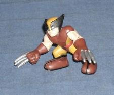 Marvel Super Hero Squad RARE Brown Costume Wolverine Logan Straight Right Arm