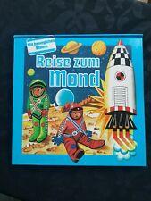 Reise zum Mond, Kubasta, Pop Up Buch, Kulissenbuch, gondrom 1988