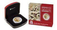 2012 ANDA Melbourne Coin  Show  -  1oz Silver Lunar Dragon (Yellow)