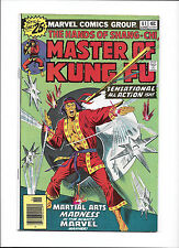 MASTER OF KUNG FU #41  [1976 FN]  THROWING-STAR COVER!