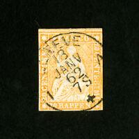 Switzerland Stamps # 23 VF Used Catalog Value $200.00
