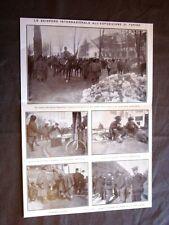 Sciopero Esposizione Torino nel 1911 Rancio bersaglieri e cavalleria Scioperanti