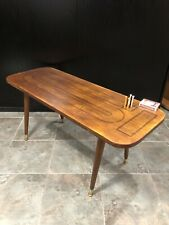 Mid Century Cribbage Board Table Antique Game Table
