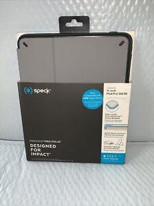 """Speck - Presidio Pro Folio Case for Apple® iPad® Pro 11"""" - Gray/Slate Gray"""