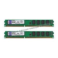 For Kingston 8GB 2X4GB DDR3-1333MHz PC Desktop Memory DIMM RAM PC3-10600