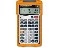 Calculated Industries Construction Master Pro 4065 W/ Pro Desktop Calculator